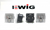 Ampere Meter Analog EWIG 50x50 5A~30A.